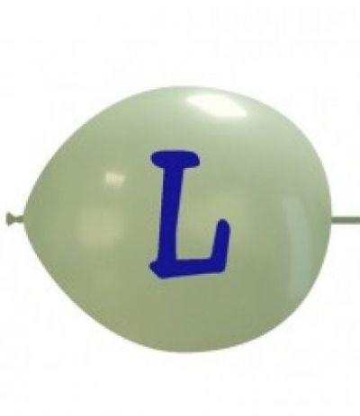 palloncino vari colori lettera L