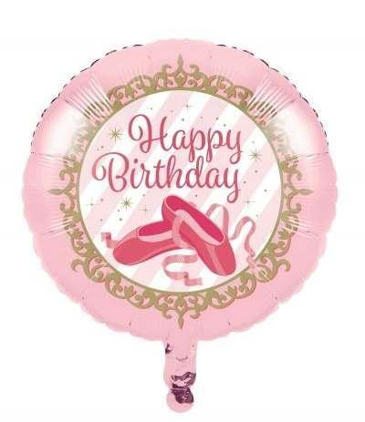 palloncino ballerina rosa