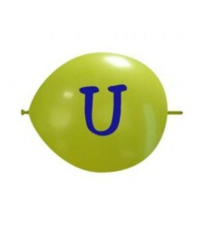 palloncino vari colori lettera U