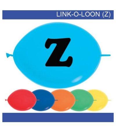 palloncino vari colori lettera Z
