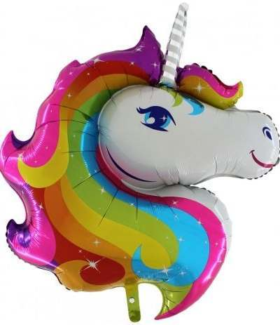 palloncino super shape unicorno 1- 32''