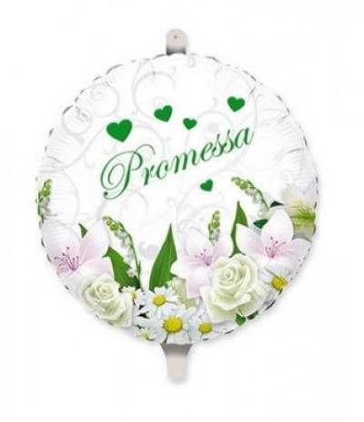 palloncino mylar promessa- 45 cm