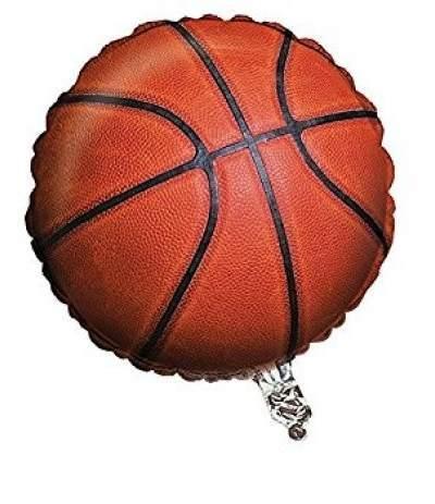 palloncino basket in mylar- 45 cm