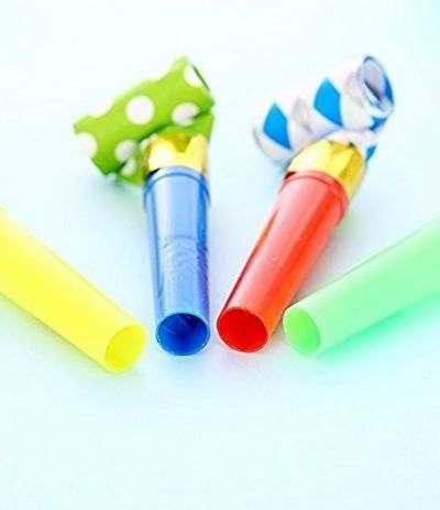 trombette colorate- 12 pezzi