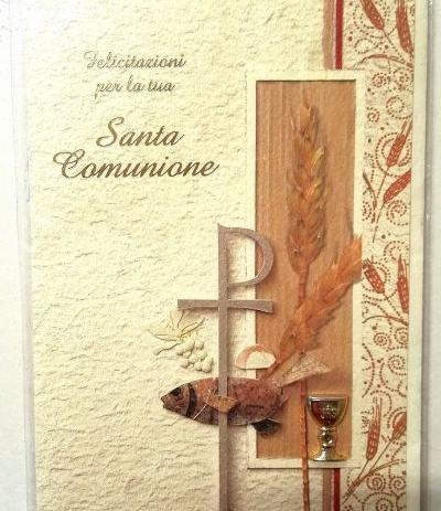 bigliettino santa comunione