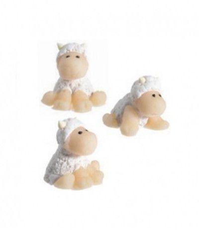 pecorella di zucchero- 3 cm