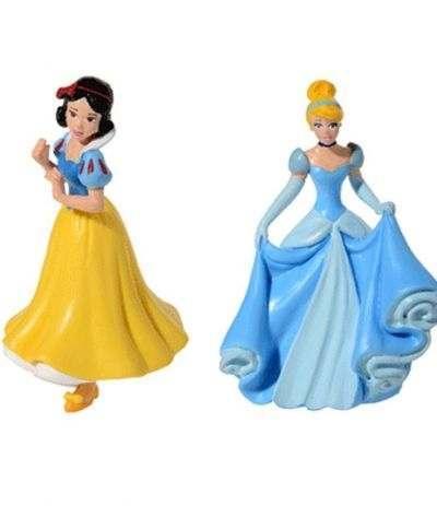 Topper Di Plastica Per Torte Biancaneve Principesse Disney