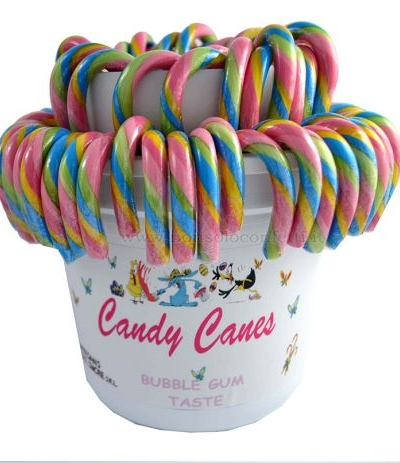lecca lecca candy cane bubblegum