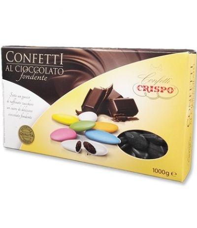 confetti neri cioccolato