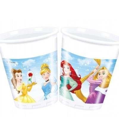 Bicchiere Principesse Disney - 8 Pezzi