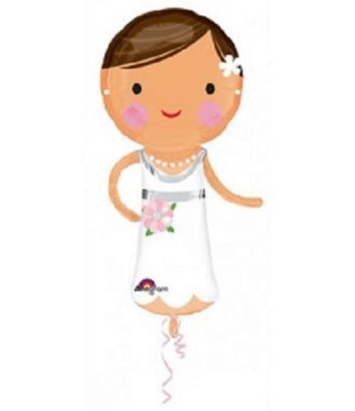 palloncino mylar sposa 101cm