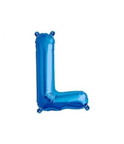 palloncino lettere l blu