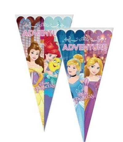 Cono Sacchetto Per Caramelle Principesse Disney