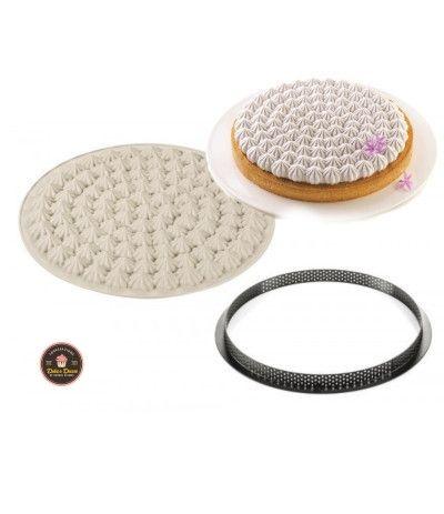 stampo in silicone kit tarte meringuè