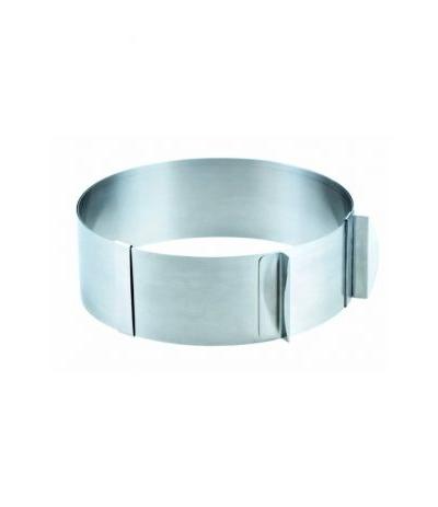 anello per torte regolabile da 16 a 30 cm