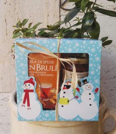 confezione regalo tisana + miele