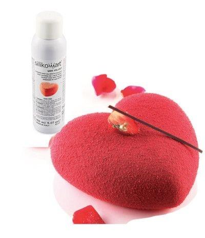 spray effetto velluto rosso 400ml