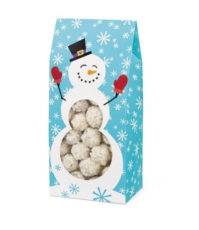 scatole porta dolci natalizie