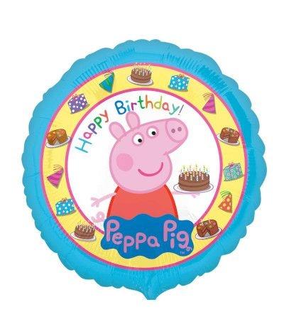 Palloncino Mylar Peppa Pig- 42 cm