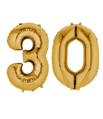 palloncino oro 30 anni-86cm