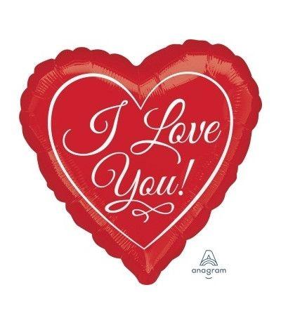 palloncino cuore love you