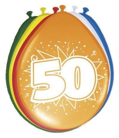 palloncini lattice 50 anni- 8 pezzi