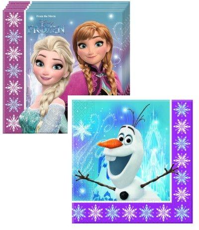 Tovaglioli Frozen - 20 Pezzi
