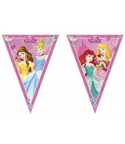Festone Bandierine Principesse Disney- 2,3 mt