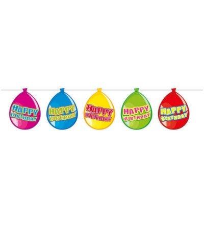 festone happy birthday palloncini