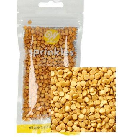 zuccherini oro coriandolini- 56 gr