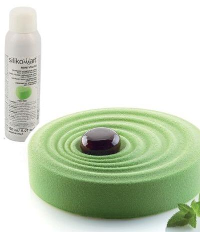colorante spray effetto velluto verde-150ml
