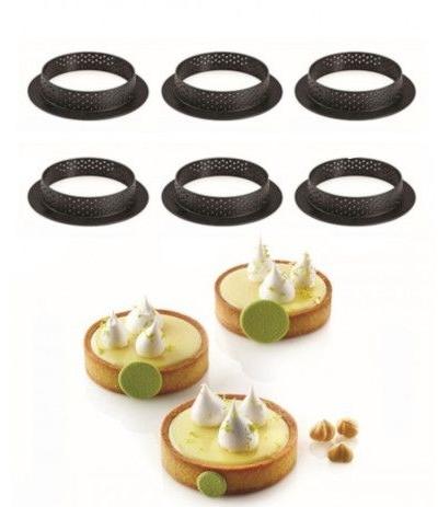 6 anelli traforati cm8 silikomart