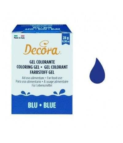 colorante decora gel blu- 28 gr