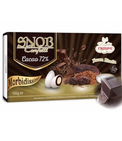 confetti snob 500 gr cioccolato 72%