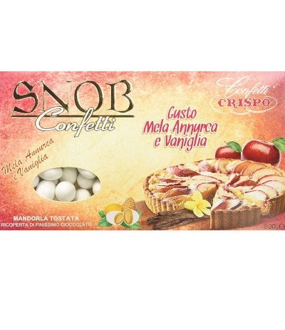 Confetti Snob Mela Annurca e Vaniglia- 500 gr