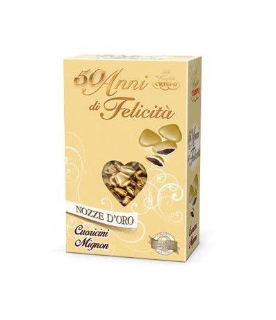 cuoricini cioccolato oro 500gr