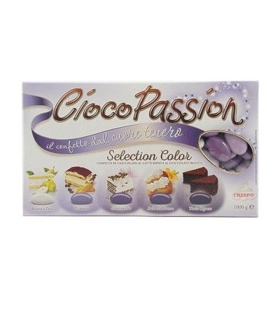 'CONFETTI CRISPO CIOCOPASSION SELECTION COLOR LILLA GUSTI ASSORTITI 1 KG SFUMATI'