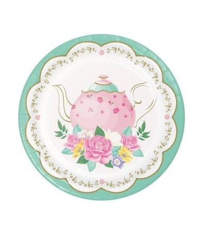 piattino floreal tea party