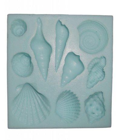 stampo silicone conchiglie- 10 cavità