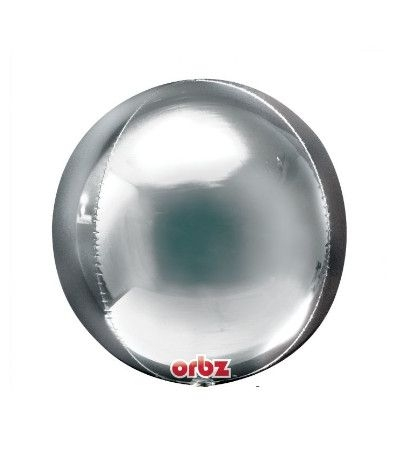 bubble sfera argento-38cm