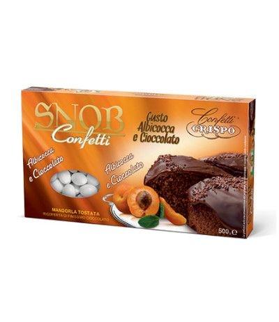 confetti snob albicocca/ciocco- 500 gr