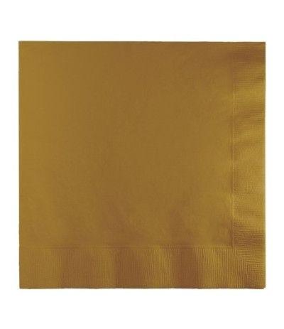 tovaglioli oro- 20 pezzi