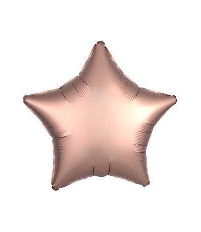 palloncino stella satinato rosa- 46 cm
