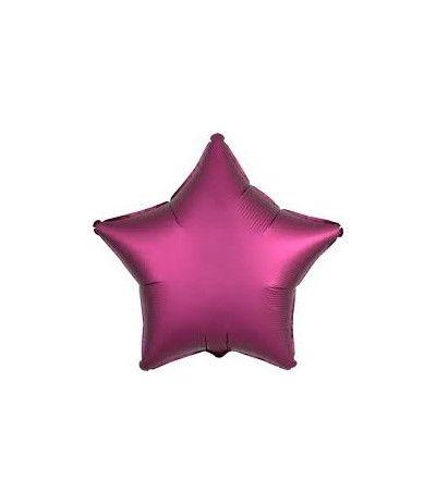 palloncino stella satinato rosa baby- 46 cm