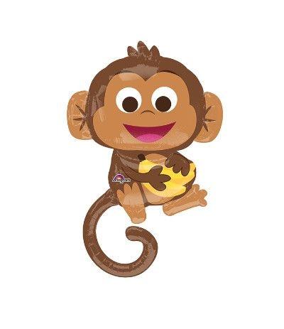 palloncino scimmia 63x91cm