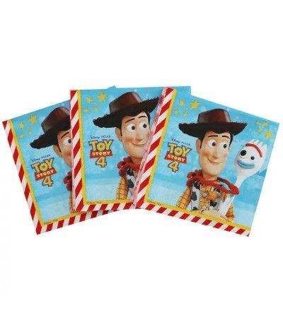 tovaglioli toystory 4- 20 pezzi