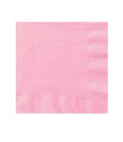 tovagliolini rosa 20pz