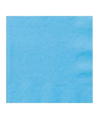 tovagliolini azzurri. 20 pz