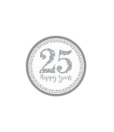 piatti grandi 25 anniversario- 8 pezzi