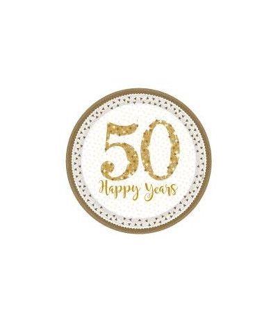 piatti grandi 50 anniversario- 8 pezzi